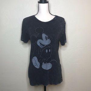 Disney   Acid Wash Mickey Tee